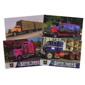 Super Truck Collector Cards Series 1