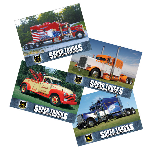 Super Truck Collector Cards Series 10