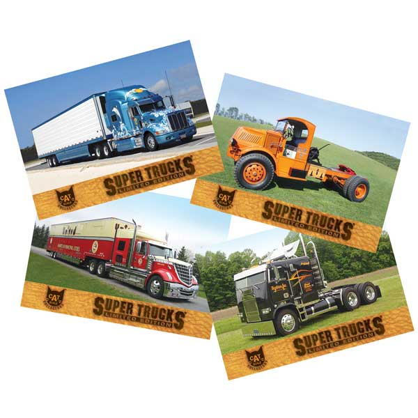 Super Truck Collector Cards Series 11