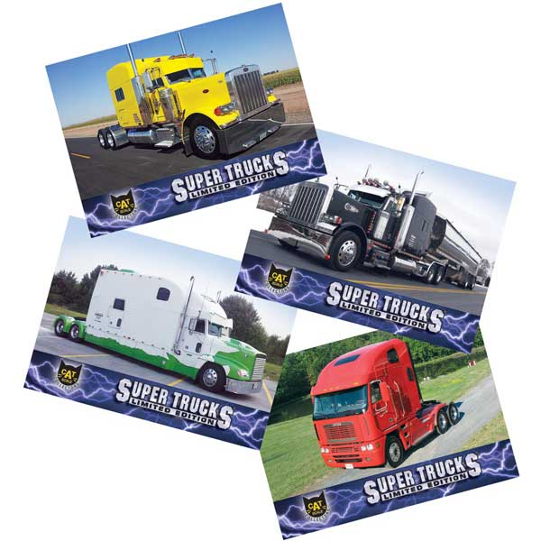 Super Truck Collector Cards Series 12