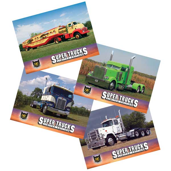 Super Truck Collector Cards Series 13