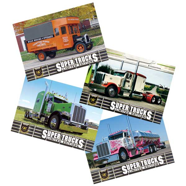 Super Truck Collector Cards Series 14