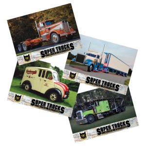 Super Truck Collector Cards Series 15