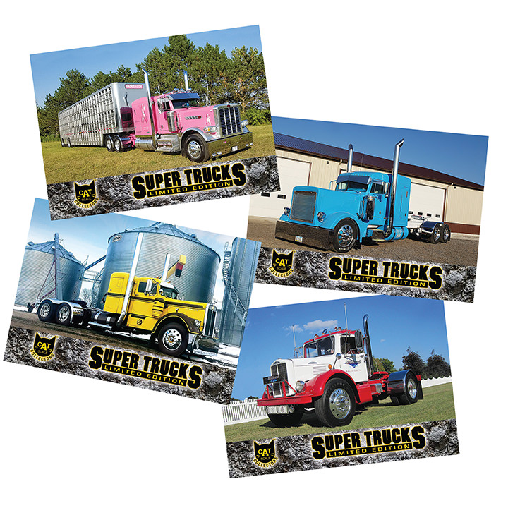 Super Truck Collector Cards Series 16