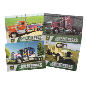Super Truck Collector Cards Series 2