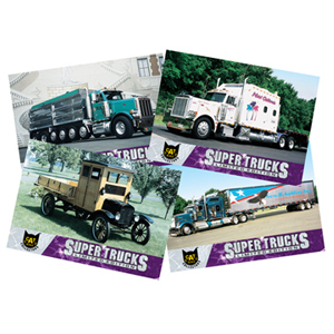 Super Truck Collector Cards Series 3