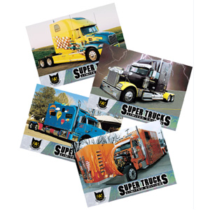 Super Truck Collector Cards Series 5
