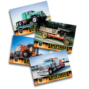 Super Truck Collector Cards Series 6