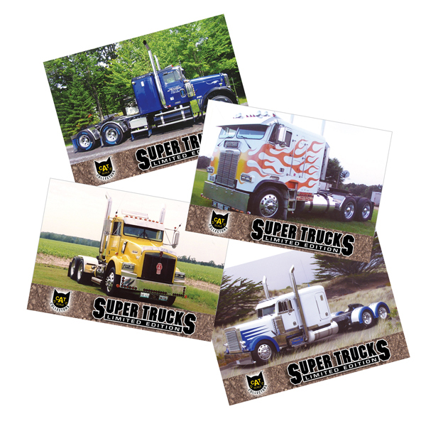 Super Truck Collector Cards Series 8