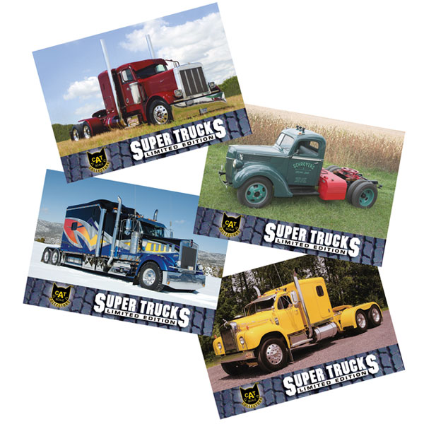 Super Truck Collector Cards Series 9