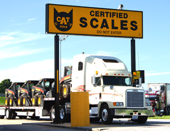 Truck on Scale