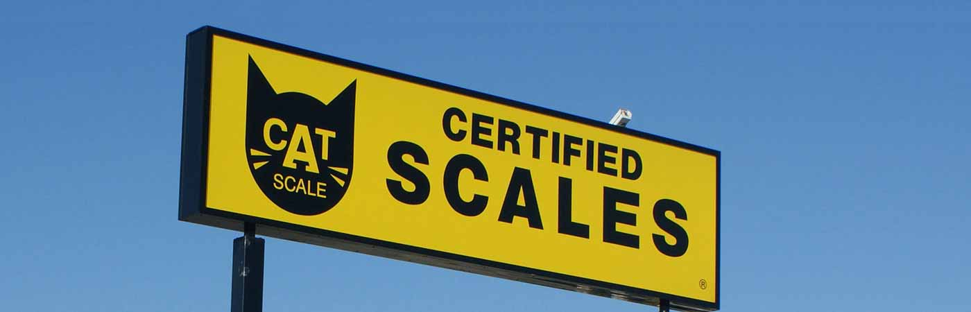 CAT Scale – Network of Certified Truck Scales.